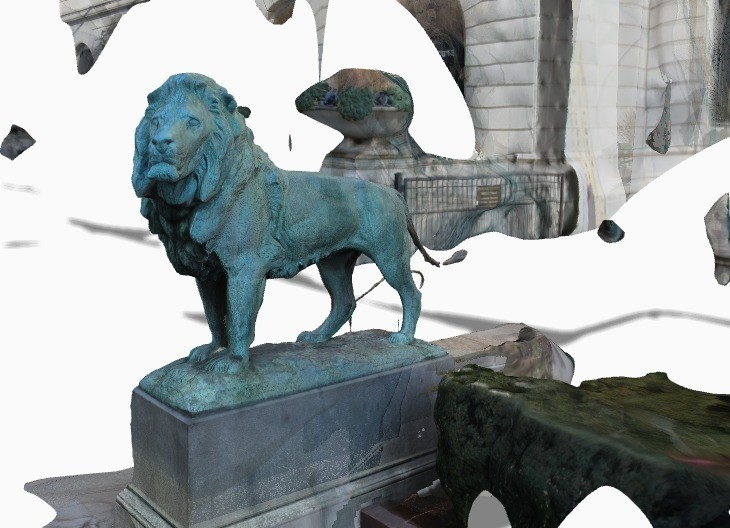 Screenshot_2014-02-09_23.15.40_display_large.jpg Download free STL file Iconic Lion at the Steps of the Art Institute of Chicago (south) • 3D printable template, allanrobertsarty