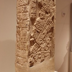 IMG_8420_display_large.jpg Download free STL file Stela from Late Classic Maya, at the Art Institute of Chicago • 3D print template, allanrobertsarty