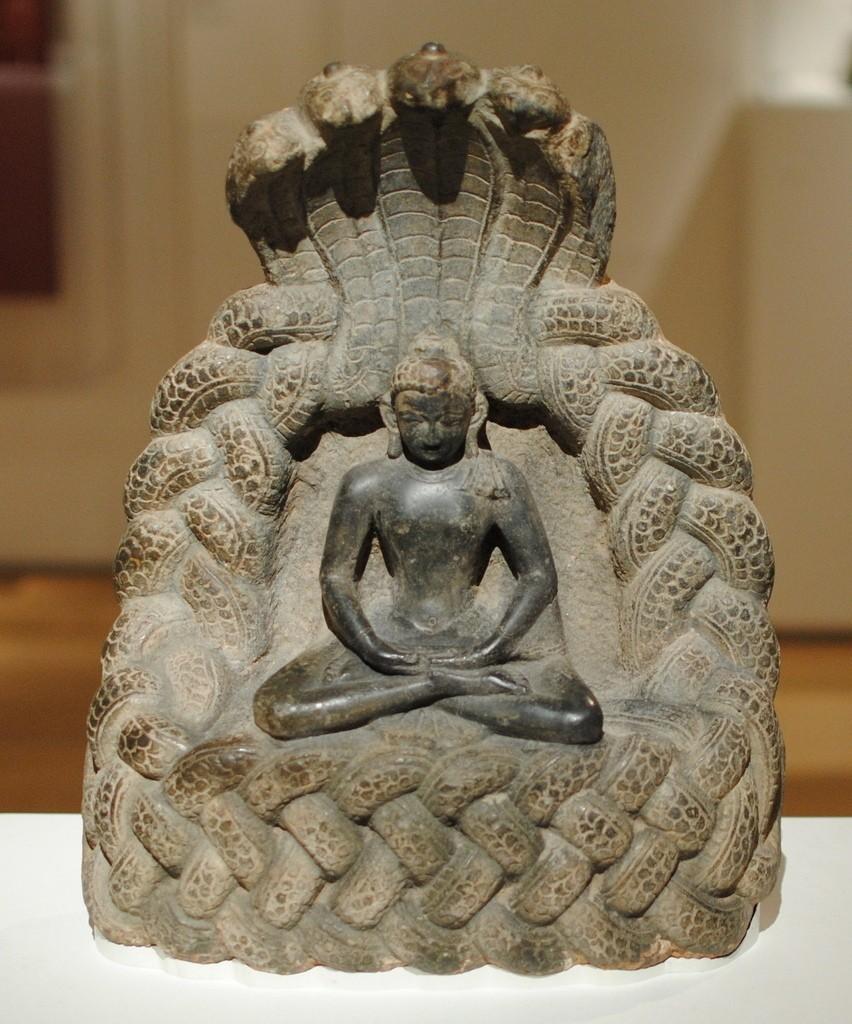 Buddha_Serpent_display_large.jpg Download free STL file Buddha Sheltered by the Serpent King Muchalinda • 3D printable design, allanrobertsarty