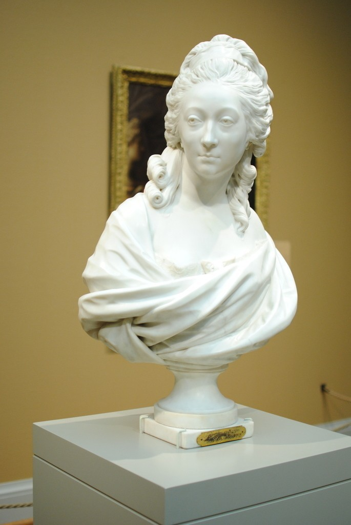 Houdon_AIC_display_large.jpg Download free STL file Bust of Anne-Marie-Louise Thomas de Domangeville de Sérilly, Comtesse de Pange • 3D printing model, allanrobertsarty
