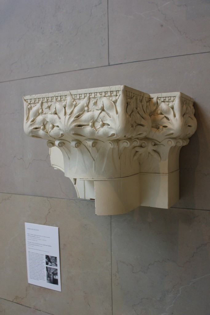 IMG_6871_display_large.jpg Download free STL file Adler and Sullivan, Column Capital and Portion of a Frieze • Template to 3D print, allanrobertsarty