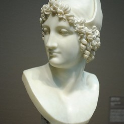 Free 3D printer model Bust of Paris, allanrobertsarty