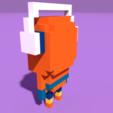 Télécharger plan imprimante 3D gatuit Pixel Hoodie Boy, Ebon