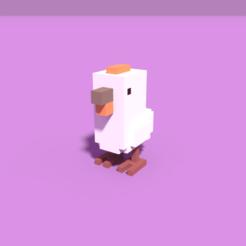 3D printer models Pixel Chicken, Ebon