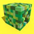 Descargar diseños 3D Cabeza rastrera de píxeles Vacía, Ebon