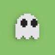 Download free STL files PacMan Ghost, Ebon