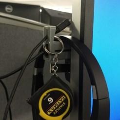 Download free 3D printing models USB Hanger Hook, Makerneer