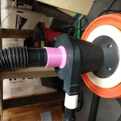 "Download free 3D print files 2.25"" threaded hose adapter, Makerneer"