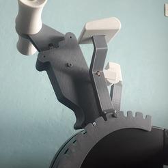 Impresiones 3D Palanca de aleteo para el cuadrante de aceleración de Saitek, Juzeq