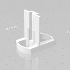 Capture1.JPG Download STL file Cupboard rail guide • 3D print template, CADastrophe