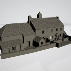 Descargar archivo 3D Devon Farmhouse 'N' gauge, Engauge