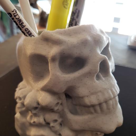 20200905_145552 (2).jpg Download STL file skull pot • 3D printer design, drykill_23