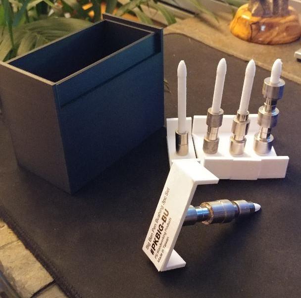 bushing_4_2.jpg Download free STL file pen bushing organizer • 3D printer object, drykill_23