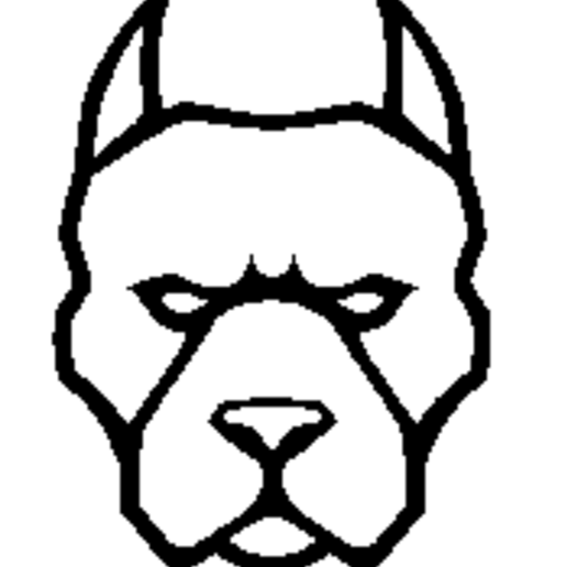 Download free STL file dog • Template to 3D print, drykill_23