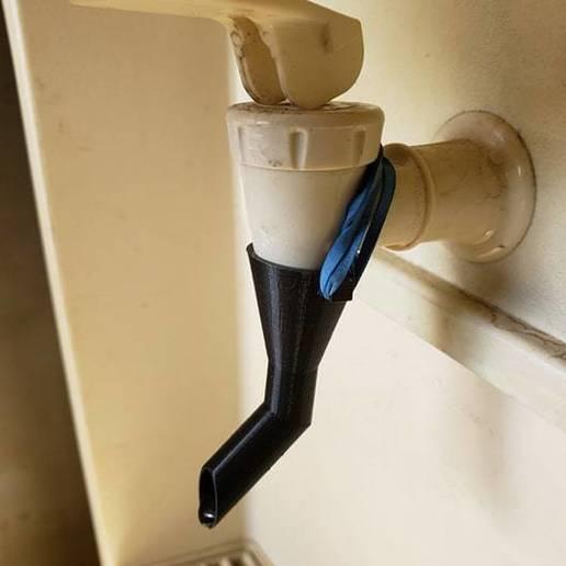 71956470_2109897989305332_2425910619564670976_n.jpg Download free STL file water dispenser diverter • 3D printable template, drykill_23