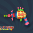 Free 3D model killer klowns from outer space cotton candy gun, drykill_23
