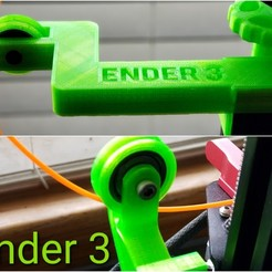 Download free 3D printer model Ender 3 filament guides, drykill_23