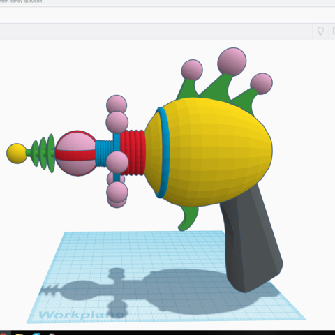 Screenshot (73).png Download STL file killer klowns from outer space cotton candy gun • 3D printer object, drykill_23