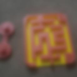 Télécharger fichier STL gratuit Puzzle labyrinthe coulissant presque impossible • Objet pour imprimante 3D, evgbourd