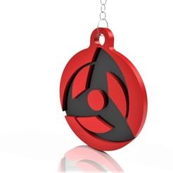 Obito 1.jpg Télécharger fichier STL Porte-clés Uchiha Obito Eye • Design à imprimer en 3D, MakeRick