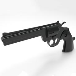 STL Pistolet - Revolver, Gus_GeoKa