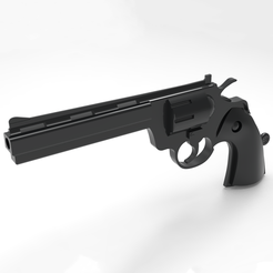 3D printer files Gun - Revolver, Gus_GeoKa