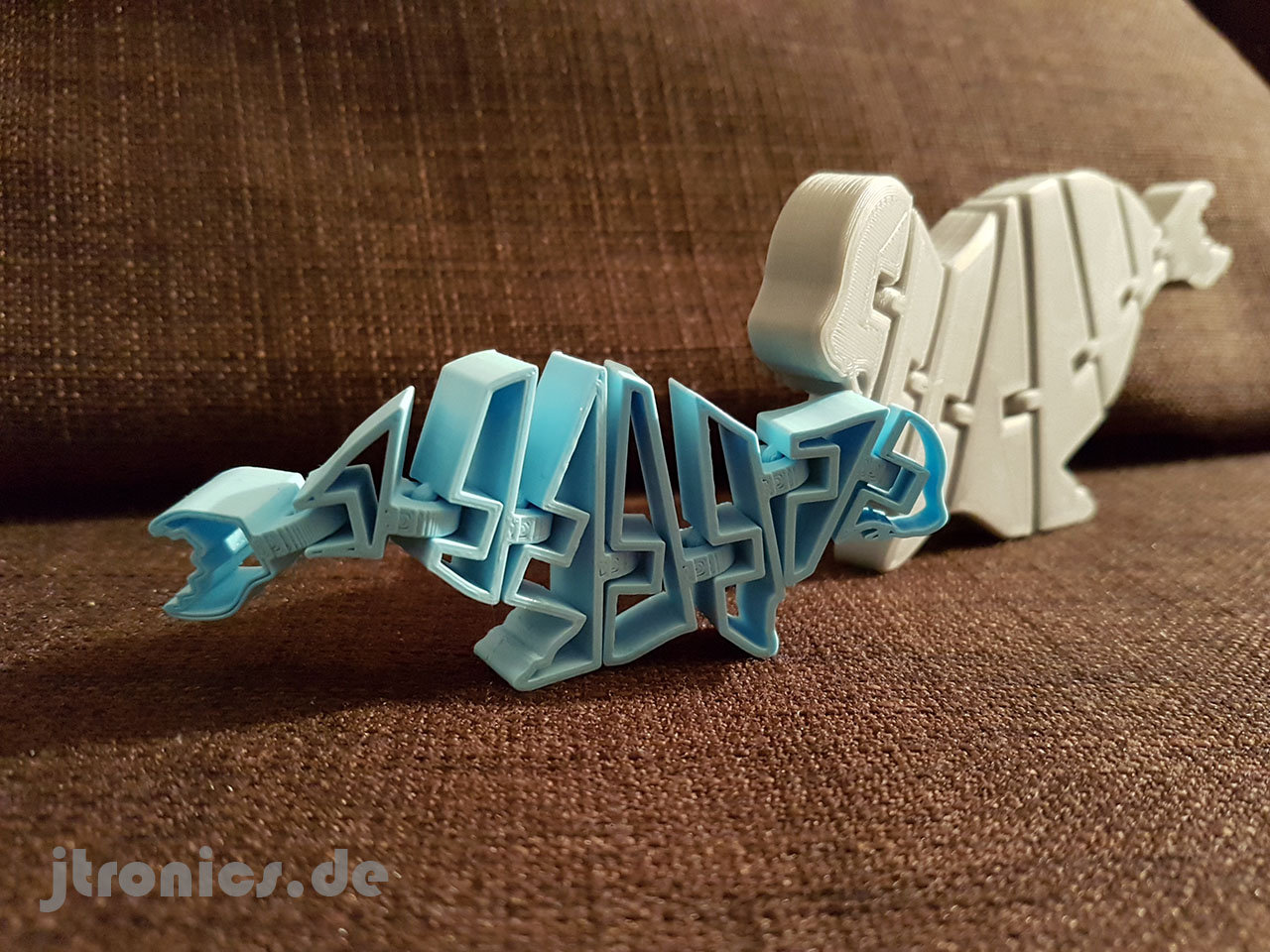 20190508_211759.jpg Download free STL file Flexi Articulated Mini Seadog Seal • 3D printer template, jtronics