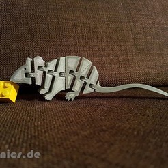 3D printing model Flexi Articulated Mouse , jtronics