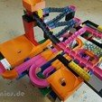 3D print files Lego Marble Run Building Block Brick - Set BASIC, jtronics