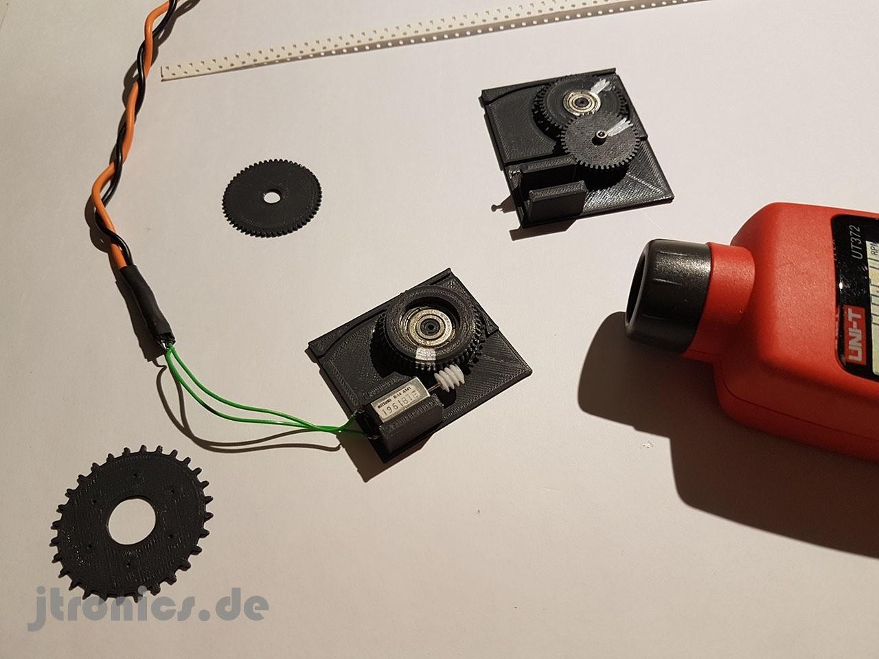 20190319_225810.jpg Télécharger fichier STL gratuit Test d'engrenage à vis sans fin d'alimentation OpenPnp SMT imprimé 3D • Modèle à imprimer en 3D, jtronics