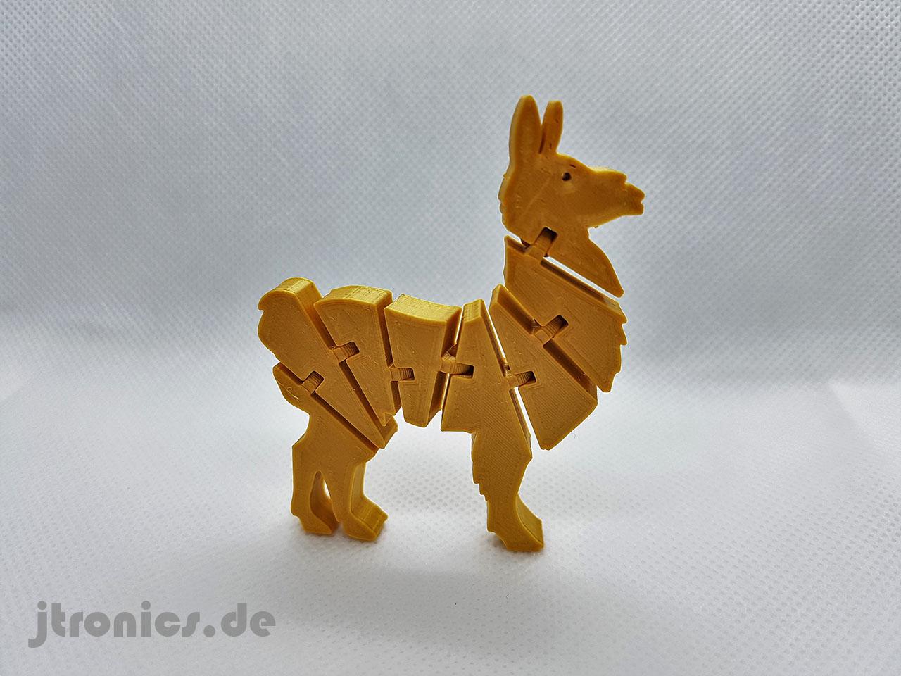 20190524_211911.jpg Télécharger fichier STL gratuit Lama articulé Flexi • Modèle à imprimer en 3D, jtronics