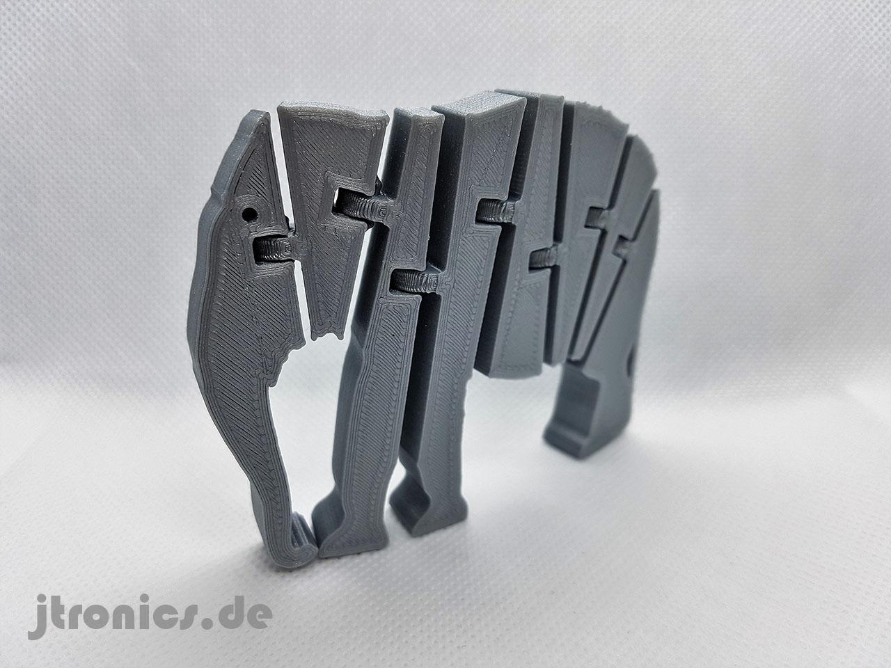 20190524_214025.jpg Download free STL file Flexi Articulated Elephant • 3D printable model, jtronics