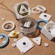 Download free 3D printer model Mini Motor Planetary Gearbox 1:4.7, jtronics