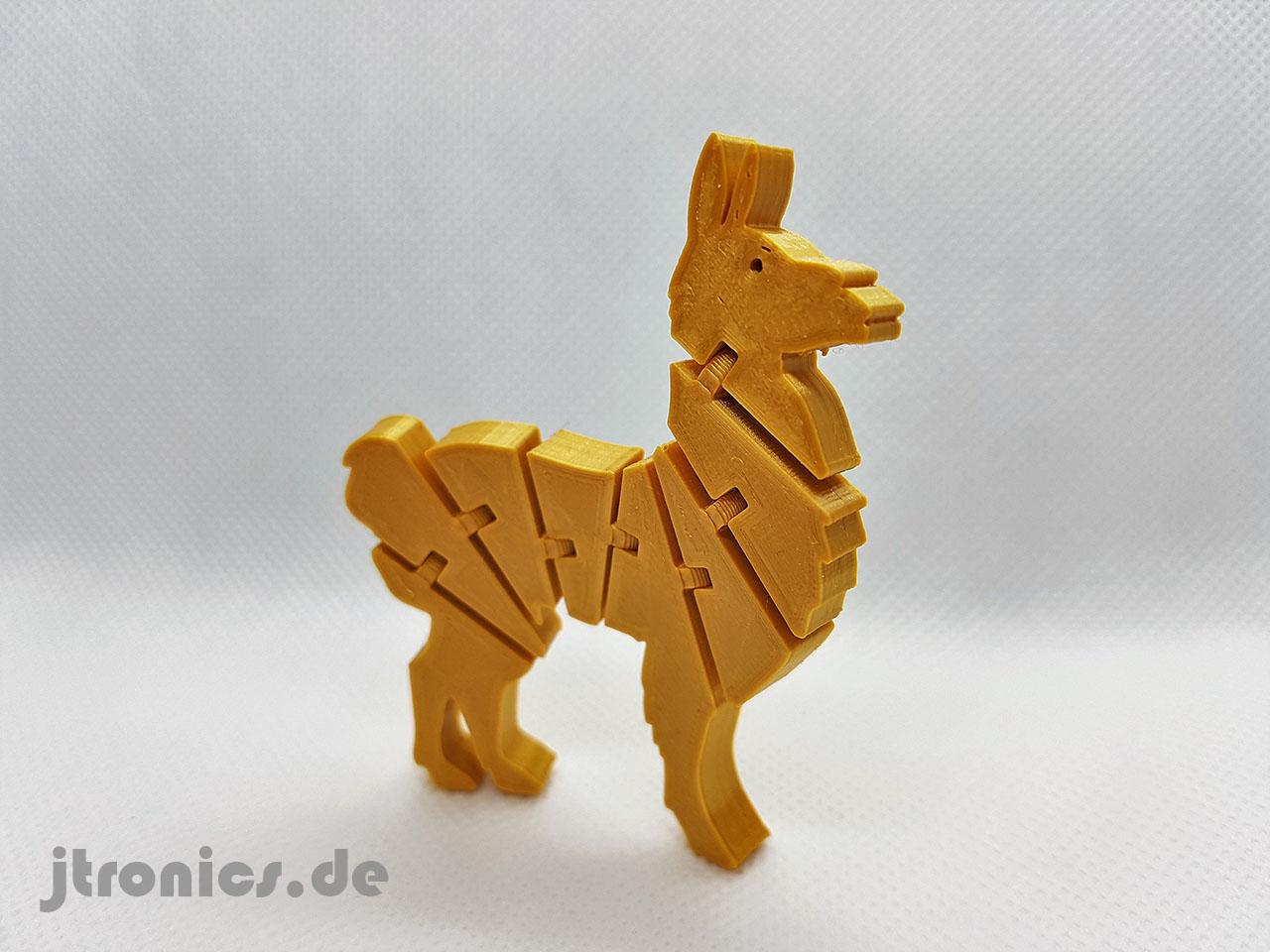 20190524_211712.jpg Télécharger fichier STL gratuit Lama articulé Flexi • Modèle à imprimer en 3D, jtronics