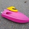 Download 3D printer designs RC Mini Twin Jet Boat, jtronics