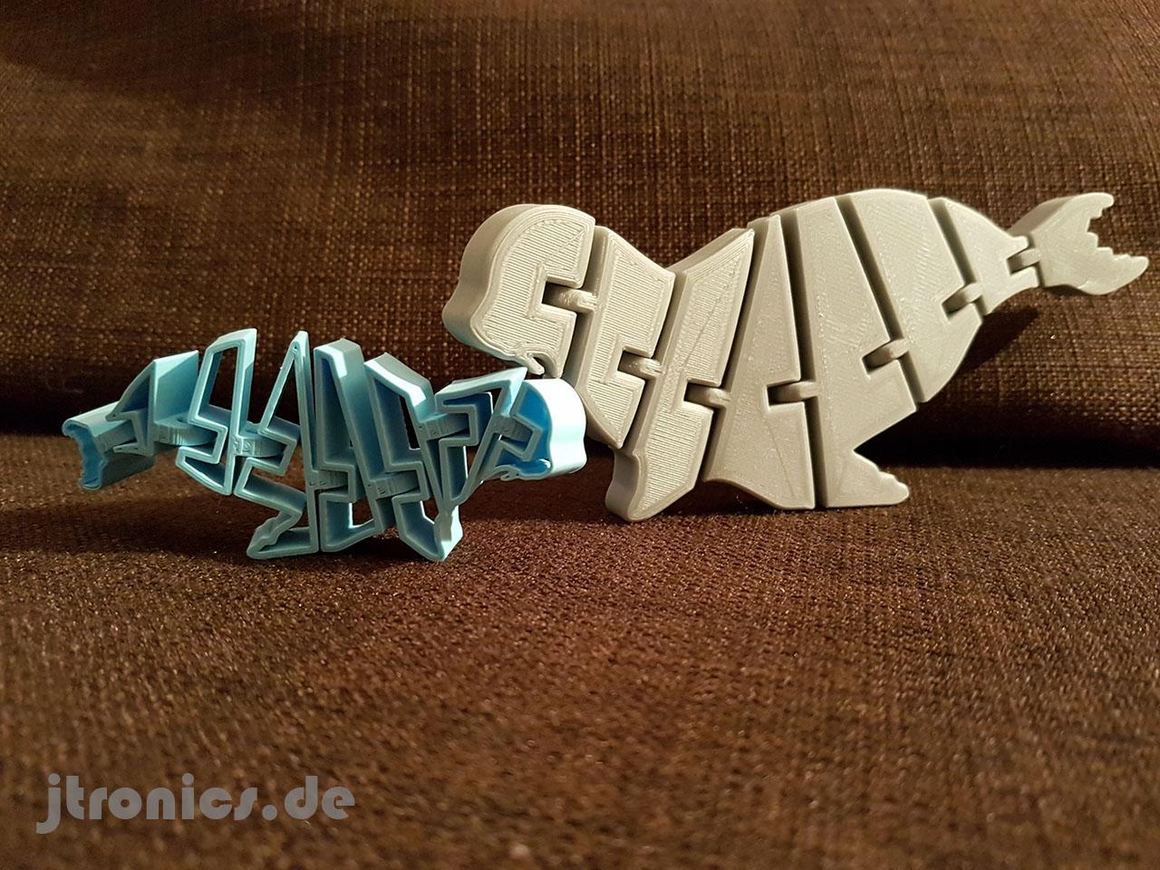 20190508_211745.jpg Download free STL file Flexi Articulated Mini Seadog Seal • 3D printer template, jtronics