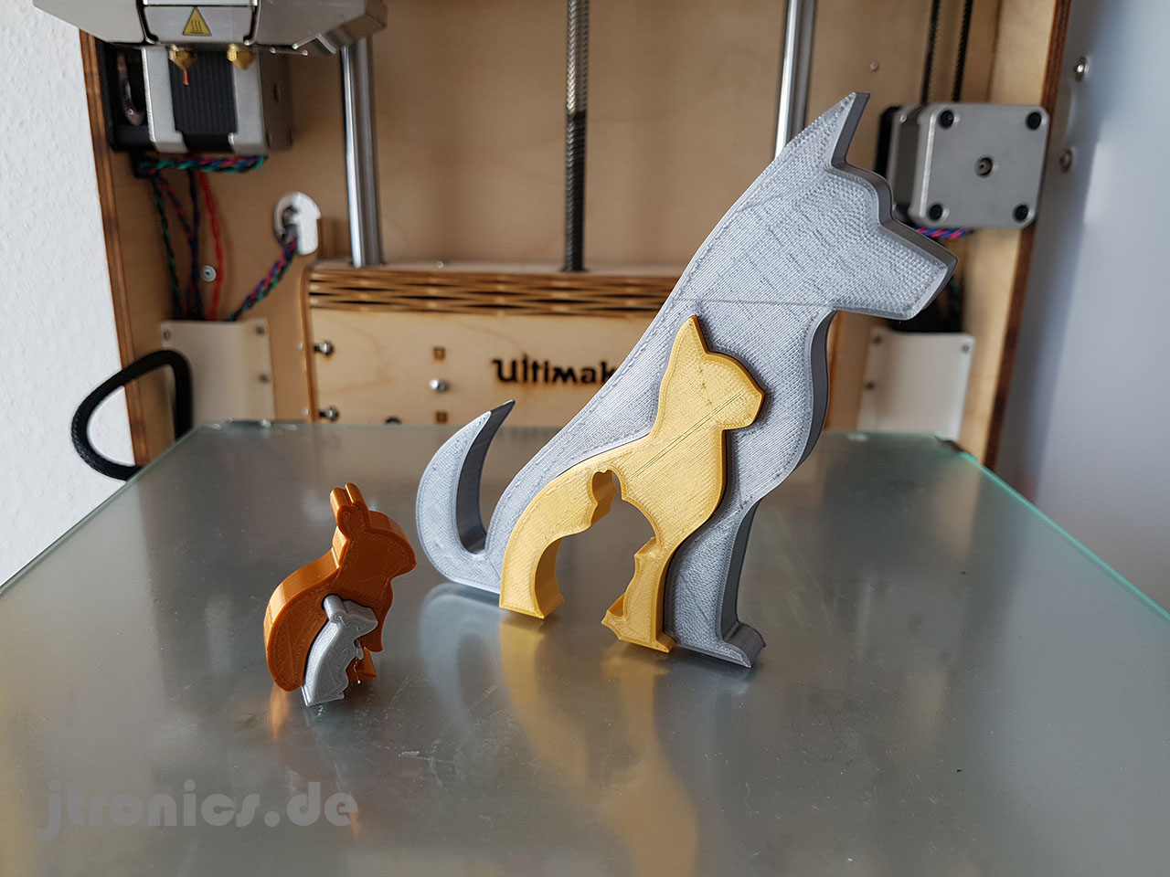 20190618_115805.jpg Download free STL file Animal Silhouette - Dog Cat Rabbit Mouse • 3D printing template, jtronics