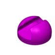Download free 3D printer designs Sonicare toothbrush head mount holder , jtronics