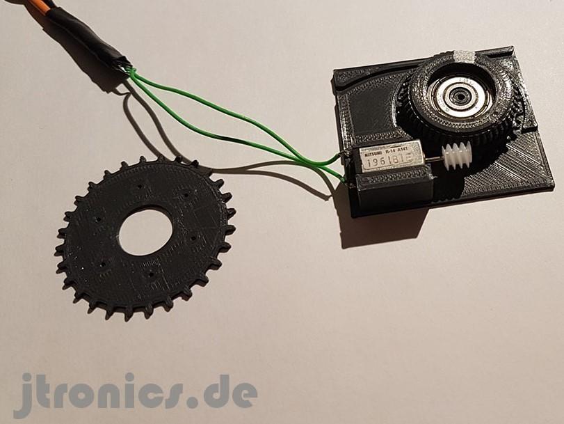 20190319_225958.jpg Télécharger fichier STL gratuit Test d'engrenage à vis sans fin d'alimentation OpenPnp SMT imprimé 3D • Modèle à imprimer en 3D, jtronics