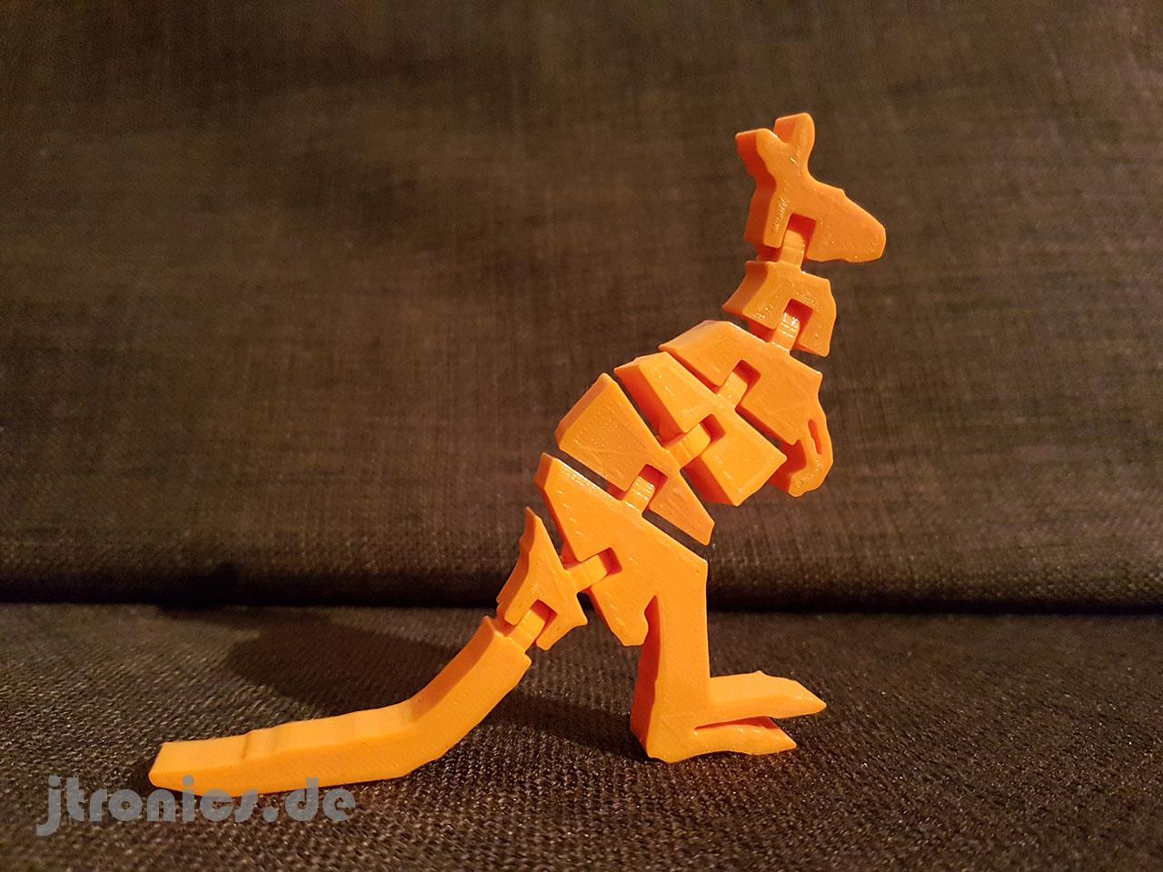 20190514_232904.jpg Download free STL file Flexi Articulated Kangaroo • Model to 3D print, jtronics