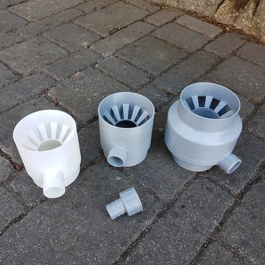 jtronics_raincollector_02.jpg Download free STL file Rain Collector • 3D printer model, jtronics