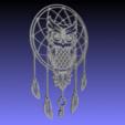 STL Owl dream Catcher (Buho, lechuza, atrapasueños). Arte 2D., sergiomdp01