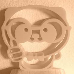Télécharger plan imprimante 3D PANDA OURS 2D OURS, sergiomdp01