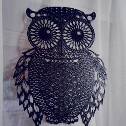 Download STL file OWL II (Owls, Owls) 2D, sergiomdp01