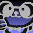 Descargar archivos 3D OSO PANDA 2D BEAR, sergiomdp01