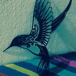 3D print files Hummingbird, sergiomdp01