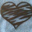 Download 3D printing files Heart animal print (Corazon) 2D, sergiomdp01