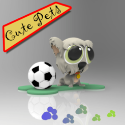 Download 3D printer designs Cute Pets Collectibles Winter, idrivn30
