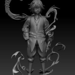 final1.jpg Download STL file Meliodas - Seven Deadly Sins 3D print model • Design to 3D print, idrivn30