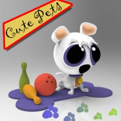 Ian (1).png Télécharger fichier STL Mignons animaux de compagnie à collectionner IAN • Design imprimable en 3D, idrivn30